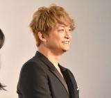 映画『凪待ち』の完成披露試写会に登壇した香取慎吾 (C)ORICON NewS inc.
