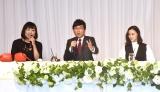 """山ちゃん&蒼井優の結婚会見に登場した""""キューピッド""""のしずちゃん(左) (C)ORICON NewS inc."""