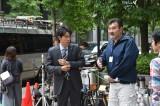 日曜劇場『ノーサイド・ゲーム』撮影風景(C)TBS