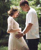 第1子妊娠を報告した福間文香(写真はインスタグラムより)