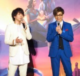 映画『アラジン』のスペシャル・ナイトイベントに出演した(左から)中村倫也、山寺宏一 (C)ORICON NewS inc.