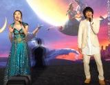 映画『アラジン』のスペシャル・ナイトイベントに出演した(左から)木下晴香、中村倫也 (C)ORICON NewS inc.