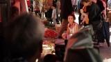 『ボディメンテ ドリンク』の新TVCM「マーケット」篇に出演するKoki,(メイキング)
