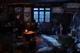 8日放送『世にも奇妙な物語 '19雨の特別編』のストーリーテラーパートに出演するタモリ、佐藤二朗 (C)フジテレビ