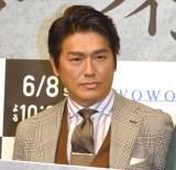 『連続ドラマW ミラー・ツインズSeason2』完成披露試写会に登壇した高橋克典 (C)ORICON NewS inc.
