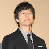 映画『空母いぶき』大ヒット御礼舞台あいさつに出席した西島秀俊 (C)ORICON NewS inc.