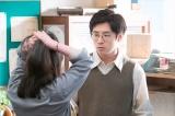 第56回より。麻子(貫地谷しほり)のダメだしに反発する堀内(田村健太郎)(C)NHK