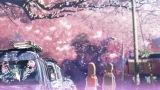 映画『秒速5センチメートル』 6月21日 深2:50 (テレビ朝日のみ)(C) Makoto Shinkai / CoMix Wave Films