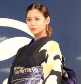 『Makeover イセタンユカタセレクション2019』プレスプレビューに登場した西内まりや (C)ORICON NewS inc.