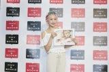 1st写真集『hana.』の発売記念イベントを開催した元KARAのニコル