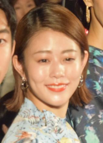 映画『町田くんの世界』公開記念舞台あいさつに出席した高畑充希 (C)ORICON NewS inc.