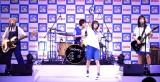 CMソング「OH!」を生披露する広瀬すずとSHISHAMO=ロッテ『爽』新CM発表会 (C)ORICON NewS inc.