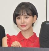 舞台『私に会いに来て』の制作発表会見に参加した兒玉遥 (C)ORICON NewS inc.