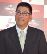 プロ野球eスポーツリーグ『e BASEBALLプロリーグ』の記者会見に出席した駒田徳広氏 (C)ORICON NewS inc.