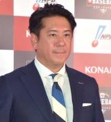 プロ野球eスポーツリーグ『e BASEBALLプロリーグ』の記者会見に出席した早川英樹社長 (C)ORICON NewS inc.