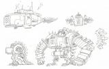 劇場版『ONE PIECE STAMPEDE』ダグラス・バレットの設定画(C)尾田栄一郎/2019「ワンピース」製作委員会