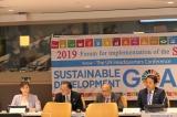 『2019国連NY本部SDGs推進会議』 の様子