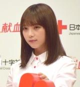 日本赤十字社『みんなの献血』記者発表会に出席した乃木坂46与田祐希 (C)ORICON NewS inc.