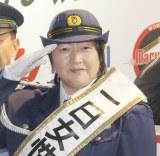 『2019痴漢撲滅キャンペーン』イベントに出席した長与千種 (C)ORICON NewS inc.