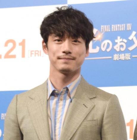 映画『ファイナルファンタジーXIV 光のお父さん』父の日記念イベントに出席した坂口健太郎 (C)ORICON NewS inc.