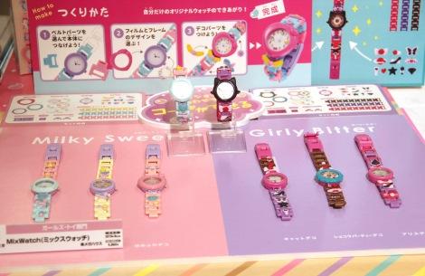 『東京おもちゃショー2019』授賞式でガールズ・トイ部門の大賞に授賞した『MixWatch(ミックスウォッチ)』(メガハウス) (C)ORICON NewS inc.