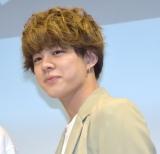 映画『午前0時、キスしに来てよ』キャストお披露目イベントに出席した宇佐卓真 (C)ORICON NewS inc.