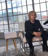 ロサンゼルスで1時間にわたるロングインタビュー(C)NHK