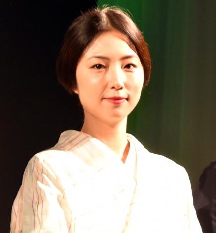 ネスレシアター最新ブランデッドムービー『上田家の食卓』プレミア発表会に出席したMEGUMI