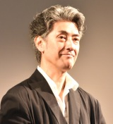 ネスレシアター最新ブランデッドムービー『上田家の食卓』プレミア発表会に出席した堀部圭亮