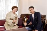 『中山秀征のカフェする!?』シーズン2に出演する(左から)中山秀征、IKKO