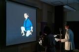 なつ(広瀬すず)たちが制作したアニメーション作品『白蛇姫』のアフレコが行われた(C)NHK