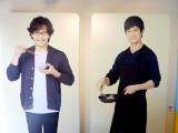入り口付近でシロさんとケンジがお出迎え=『きのう何食べた?』展、開催中 (C)ORICON NewS inc.