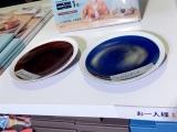 皿(左がケンジ、右がシロさん)=『きのう何食べた?』展、開催中 (C)ORICON NewS inc.