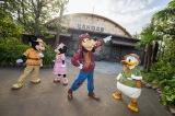 冒険に向けて意気揚々とした様子のミッキーマウスやディズニーの仲間たち(C)Disney
