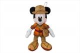 東京ディズニーシーで7月23日から始まる新しいショー「ソング・オブ・ミラージュ」に合わせて7月17日から販売されるぬいぐるみバッジ・ミッキーマウス(各2200円)(C)Disney