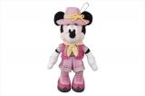 東京ディズニーシーで7月23日から始まる新しいショー「ソング・オブ・ミラージュ」に合わせて7月17日から販売されるぬいぐるみバッジ・ミニーマウス(各2200円)(C)Disney