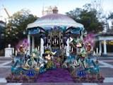 ウォーターフロントパークのデコレーション=東京ディズニーシー「ディズニー・ハロウィーン」(9月10日〜10月31日)(C)Disney