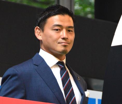 『ラグビーワールドカップ2019日本大会』100日前イベントに登壇した五郎丸歩 (C)ORICON NewS inc.