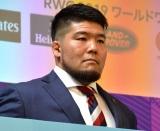 『ラグビーワールドカップ2019日本大会』100日前イベントに登壇した畠山健介 (C)ORICON NewS inc.
