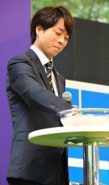 『ラグビーワールドカップ2019日本大会』100日前イベントに登壇した櫻井翔 (C)ORICON NewS inc.