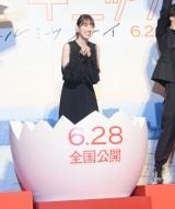 作品の完成、女優デビューを記念して卵から誕生した堀未央奈 (C)ORICON NewS inc.