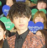 映画『ホットギミック ガールミーツボーイ』完成披露イベントに登壇した上村海成 (C)ORICON NewS inc.
