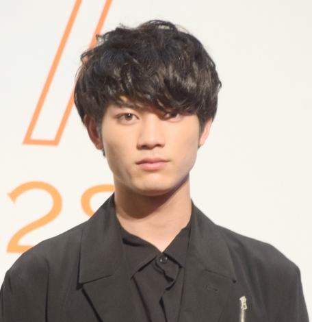 映画『ホットギミック ガールミーツボーイ』完成披露イベントに登壇した板垣瑞生 (C)ORICON NewS inc.