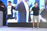 オウリーダンスをするFUJIWARA (C)ORICON NewS inc.