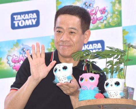 『東京おもちゃショー』のタカラトミーブースで『とんで!オウリー』新商品お披露目イベントに参加した原西孝幸 (C)ORICON NewS inc.