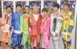 武道館でツアー『LIVE DA PUMP 2019 THANX!!!!!!! FINAL』の初日公演を開催した(左から)U-YEAH、YORI、KIMI、ISSA、DAICHI、KENZO、TOMO (C)ORICON NewS inc.