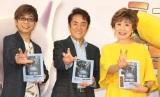 映画『ミュウツーの逆襲 EVOLUTION』の公開アフレコイベントに参加した(左から)山寺宏一、市村正親、小林幸子 (C)ORICON NewS inc.