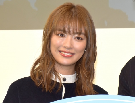 WEBマガジン『楕円球LOVE』の創刊記念イベントに参加した内田理央 (C)ORICON NewS inc.