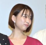 『耳を腐らせるほどの愛』の公開初日舞台あいさつに登壇した森川葵 (C)ORICON NewS inc.
