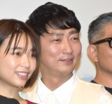 『耳を腐らせるほどの愛』の公開初日舞台あいさつに登壇した石井明 (C)ORICON NewS inc.